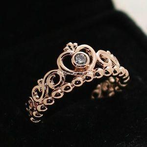 My Princess Rose Gold Pandora Ring